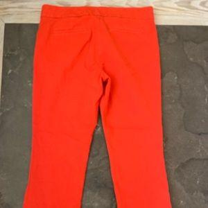 J Crew red pants